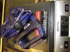 "Integral BMX BIKE PEDALS Purple Clear FIT 3 PIECE CRANK 9/16"" Kink SM lilkidused"