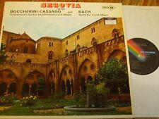 MACS 2132 Segovia plays Boccherini-Cassado / Bach