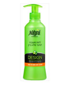 Natural Formula Design Moisturizing for Dry Damaged Hair 400ml