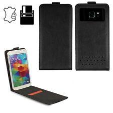 Handy Schutzhülle für Sony Xperia XZ 1 Compact - Hülle - S Flip Leder Schwarz