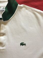 Lacoste White Polo T Shirt Top Size XL