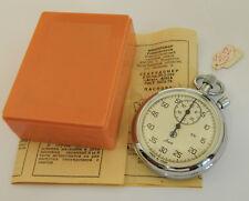 USSR Russian Soviet Chronometer Stopwatch Agat in box #218