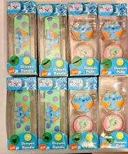 Lot of 8 Brand New Boxes of Blue's Clues Drawer Pulls and Drawer Handles