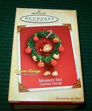 "HALLMARK 2004 ""MONKEY SEE"" CURIOUS GEORGE"