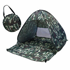 Camo Portable Pop Up Beach Canopy Sun Shade Shelter Outdoor Camping Fishing Tent