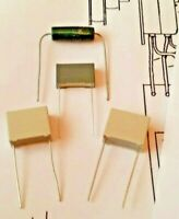 Ariston RD80 RD110 Turntable Repair Kit 3 Capacitors & 1 Resistor