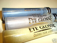 3 X Loreal  Eye Glosse Eyeshadow   # GOLD DUST.BUBBLING .SMOLDERING F/S