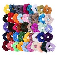 Velvet Elastic Hair Rope Set Tie Scrunchie Ponytail Holder Hairband for Women