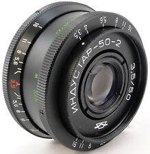 NEW! INDUSTAR 50-2 Russian Lens PENTAX PK K Mount 50 500 S1 S2 7 5 3 II K-1 K-70