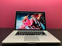 "15"" MACBOOK PRO   PRE-RETINA   16GB RAM   1TB SSD   QUAD CORE i7 TURBO   MOJAVE"