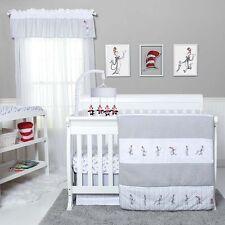 Trend Lab Dr Seuss New Fish Baby Nursery Crib Bedding Set