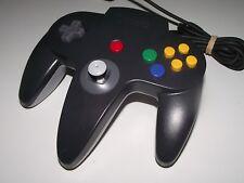 Genuine Nintendo 64 N64 Charcoal Black & Grey Controller Refurb Toggle