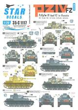 Star Decals 1/35 PANZER IV PzKpfw IV F2 TANKS IN RUSSIA