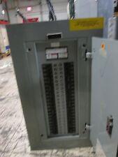 Siemens Main Lug Circuit Breaker Panel BG42ML4100STM 208Y/120V 100A 3Ph 4W Used