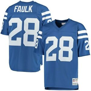 Indianapolis Colts Marshall Faulk Mitchell & Ness NFL 1994 Retired Legacy Jersey