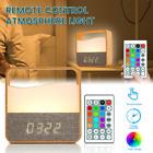 Wake Up Light Alarm Night Light Clock Sunrise Simulation Bedside Lamp Gift Table