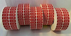 Promotional Point Of Sale Retail Stickers Price Tags Labels POS