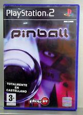 PLAY IT PINBALL - PLAYSTATION 2 - PAL ESPAÑA - COMPLETO