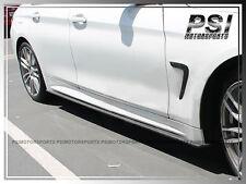 3D Style Carbon Fiber Splitter Side Skirts for BMW F32 F33 4-Series w/ M Sports