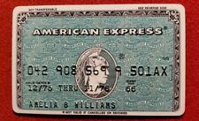 American Express Green Credit Card exp 1976 ♡Free Shipping♡cc186