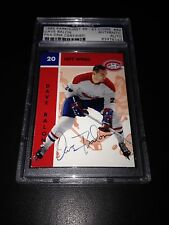 Dave Balon Signed 1995-96 Parkhurst '66-67 Canadiens Card PSA Slabbed #83476143