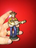 Cast Iron Beer Bottle Opener Brewery Antique Style Americana Cowboy Pabst Wow vg