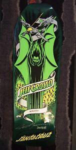 Santa Cruz Jeff Grosso Demon Reissue Autographed Skateboard