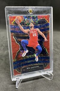 2019-20 Select Ben Simmons Red Disco /49 Prizm Concourse 76ers PSA BGS? (not RC)