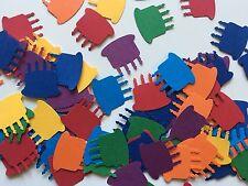 Martha Stewart Cake Punch Scrapbooking 50 Pcs Rainbow Cardstock Confetti