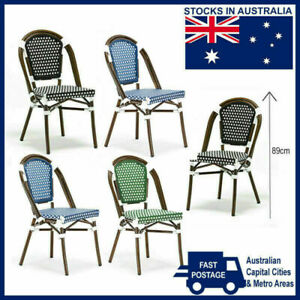 PARIS BAR CAFE BISTRO DINING CHAIR Commercial Modern Outdoor Seat Chairs Stools
