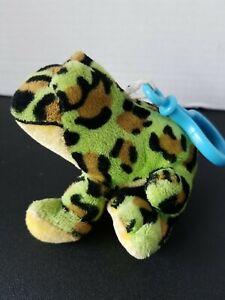 Bullfrog 4in Webkinz Kinz Klip keychain charm NO Code Just Frog Great Condition