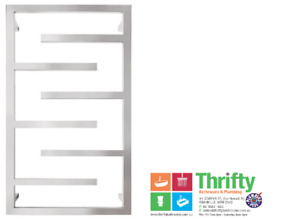 Forme Frame 6 Bar Square Heated Towel Rail 900 H x 500 W 316 Stainless Steel