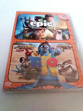 """DVD """"EPIC EL MUNDO SECRETO / RIO"""" 2DVD PRECINTADO SEALED BLUE SKY"""