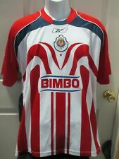 7a4b3b6c8 Reebok Size L Guadalajara International Club Soccer Fan Apparel and ...
