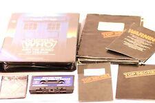 Raro Doctor Who y las minas de terror COMMODORE C64 juego por Micropower 1985