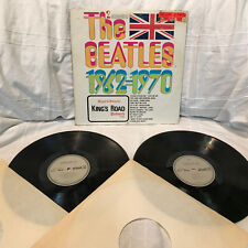 2LP –KINGS ROAD /  THE BEATLES  1962-1970 / PTP 2062  USA / RAR