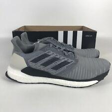 Adidas Solar Ultra Boost Running Shoes Men's Size 13 Gray CQ3170