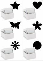 Xcut Handheld Paper Card Shape Palm Punch Craft Metal Die Cutter Range S/M/L