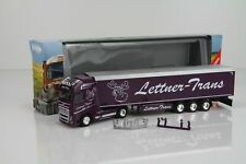 """Herpa Volvo FH16 Schubboden-Sattelzug """"Lettner-Trans"""" 924481 /H10405"""