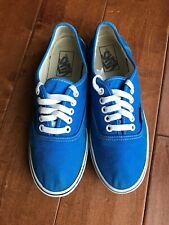 VANS Canvas Sneakers Shoes TB4R Bright Blue Women's US Sz 8 (Men's 6.5)