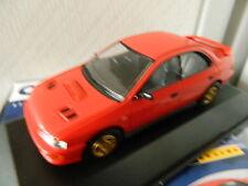Vanguards Corgi VA12103 Subaru Impreza Bright Red