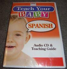 Teach Your Baby Spanish by Smart Kids Publishing 2006, CD, Teaching Guide     B6