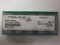 ToolFlo FLG 3094L-CB GP50 Top Notch Carbide Grooving Inserts NG 3094LCB 10pc