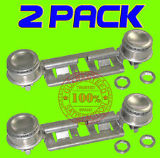 2 PACK WB29K0017 DOUBLE TOP BURNER KIT FOR GE KENMORE HOTPOINT GAS OVEN STOVE