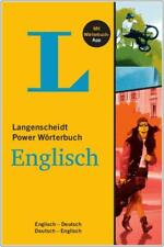 NEU: Langenscheidt Power Wörterbuch ENGLISCH - Buch plus App
