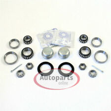 VW Passat 35i - 2 Piece Wheel Bearing Set with Caps Fat for Rear Axle