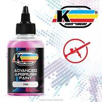 Colore acrilico vernice ad acqua per aerografo PROFESSIONALE PINK 50ML