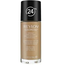 Revlon Colorstay for Combo/Oily Skin Makeup with, Rich Tan [350] 1 oz (2 pack)