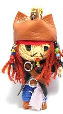 Poupée Vaudou, Johnny Depp, Jack Sparrow, porte-bonheur porte-clés, Pirates des Caraïbes