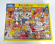 NEW White Mountain Jigsaw Puzzle POP CULTURE 1000 Piece 24X30 Collage Girard